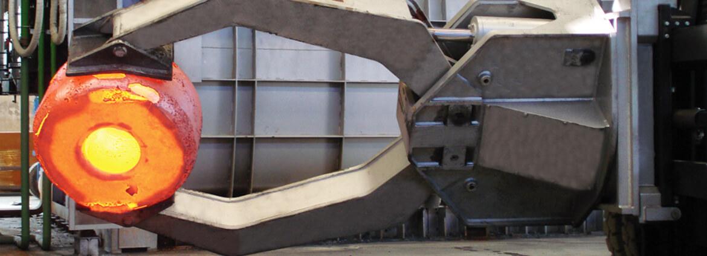 Metal Handler forklift clamp