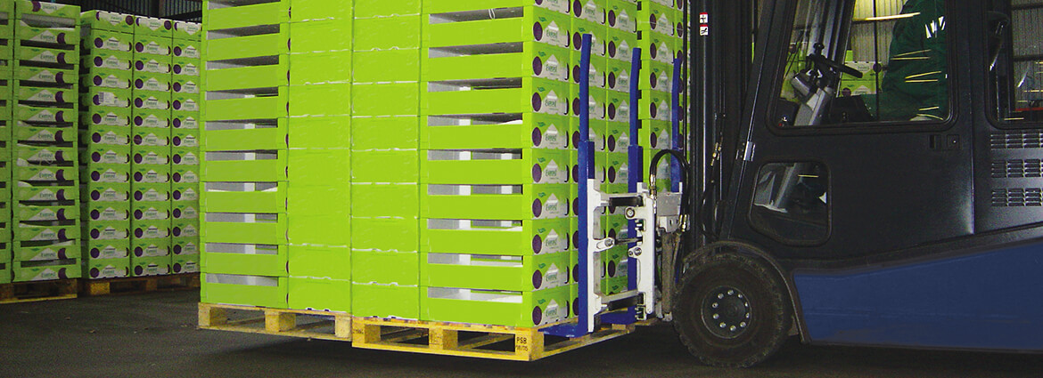 Forklift attachments to increse warehousing and logistics efficiency.