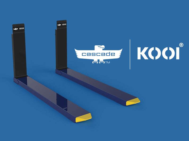 Cascade | Kooi - Manual Reachforks